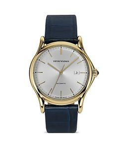 Emporio Armani | Swiss Made Light Ion Plated Watch 42mm