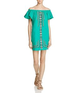 Piper | Sublime Embroidered Off-The-Shoulder Dress