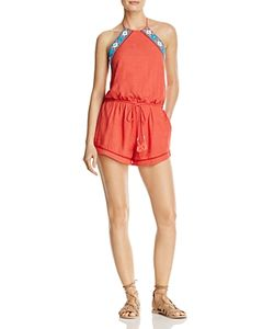 Piper | Brisban Embroidered Romper