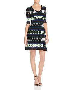 M Missoni | Zigzag Stripe A-Line Dress