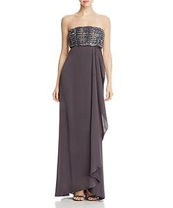 Armani Collezioni | Beaded-Bodice Gown