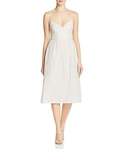 Theory | Melaena Striped Linen Dress