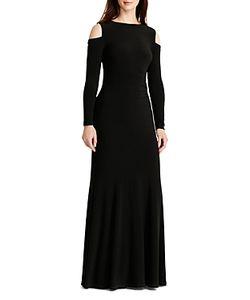 Ralph Lauren   Lauren Cold Shoulder Gown