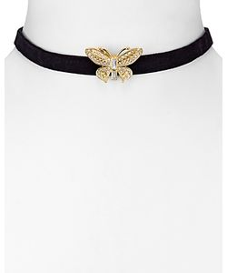 Kenneth Jay Lane | Butterfly Choker Necklace 12