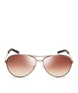 Marc by Marc Jacobs | Mirrored Aviator Sunglasses