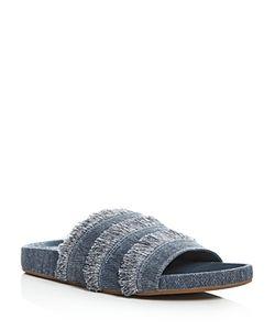 Joie | Jaden Denim Pool Slide Sandals