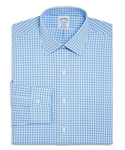Brooks Brothers | Gingham Check Regular Fit Dress Shirt