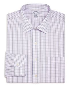 Brooks Brothers | Alternating Grid Check Classic Fit Dress Shirt