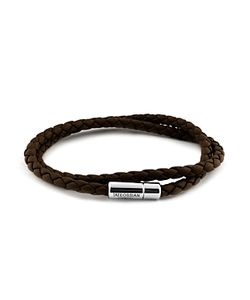 Tateossian   Leather Bracelet
