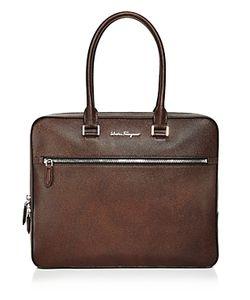 Salvatore Ferragamo | Evolution Ten Forty One Slim Briefcase