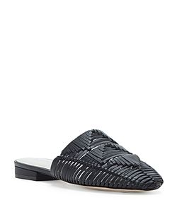 1.STATE | Syre Woven Leather Mules