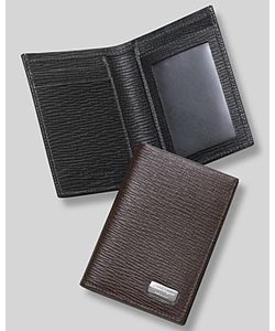 Salvatore Ferragamo | Mens Revival Cit Card Holder With Id Window