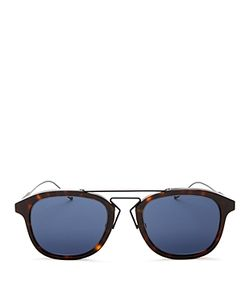Dior Homme | Dior Double Bar Square Sunglasses 52mm