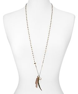 Chanluu | Chan Luu Mystic Smokey Mix Pendant Necklace 36
