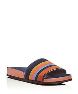 Paul Smith | Todd Stripe Slide Sandals