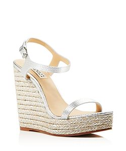 Badgley Mischka | Clea Espadrille Wedge Sandals