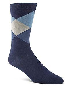 Cole Haan | Large Diamond Crew Socks