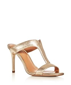 Halston Heritage | Arya T-Strap Slide Sandals