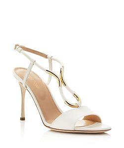 Sergio Rossi   Twist High Heel Sandals