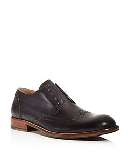 John Varvatos Star USA | Waverly Laceless Wingtip Derby Shoes