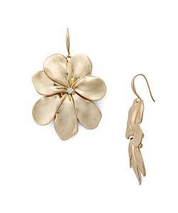 Robert Lee Morris Soho | Flower Drop Earrings