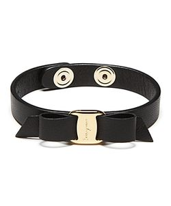 Salvatore Ferragamo | Leather Vara Single Wrap Bracelet