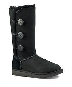 UGG | Bailey Button Triplet Sheepskin Mid Calf Boots