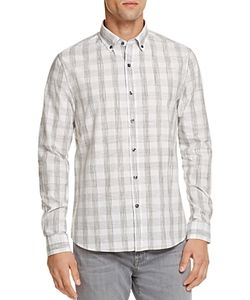 Michael Bastian | Sketch Check Regular Fit Button-Down Shirt