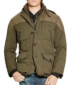 Polo Ralph Lauren | Paneled Puffer Coat