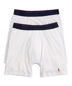 Polo Ralph Lauren | Ralph Lauren Supreme Comfort Long Leg Boxer Briefs Pack Of 2