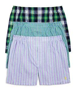 Polo Ralph Lauren | Plaid Stripe Check Boxer Briefs
