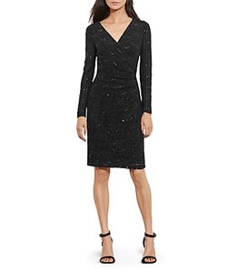 Ralph Lauren | Lauren Sequin Lace Dress