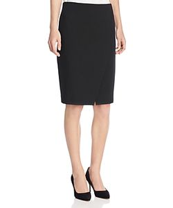 Armani Collezioni | Asymmetric Slit Pencil Skirt