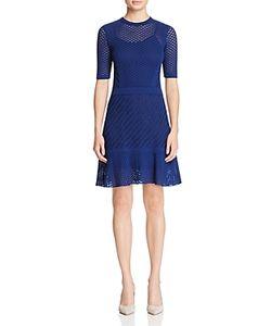 M Missoni | Monochrome Openwork Dress