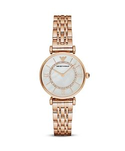 Emporio Armani | Swarovski Crystal Studded Watch 32mm