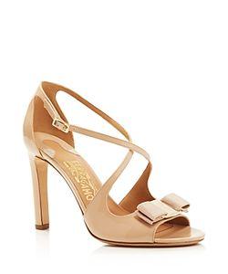 Salvatore Ferragamo | Gabrielle Criss-Cross High Heel Sandals