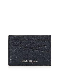 Salvatore Ferragamo | Firenze Tumbled Calfskin Flat Card Case