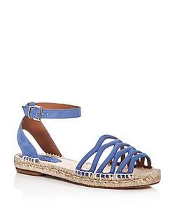 Giorgio Armani | Ankle Strap Espadrille Sandals