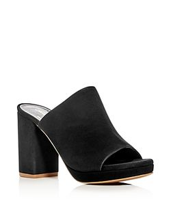 Robert Clergerie | Abrice High Heel Platform Slide Sandals