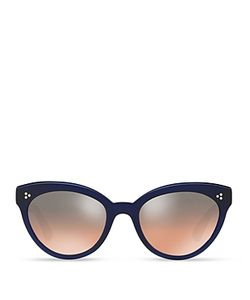 Oliver Peoples | Roella Mirrored Cat Eye Sunglasses 55mm