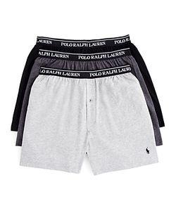 Polo Ralph Lauren | Knit Cotton Boxers Set Of 3