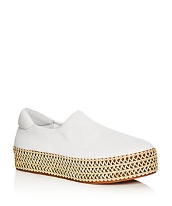 Opening Ceremony | Cici Woven Platform Slip On Sneakers