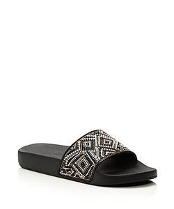 Salvatore Ferragamo | Groove Mosaic Slide Sandals