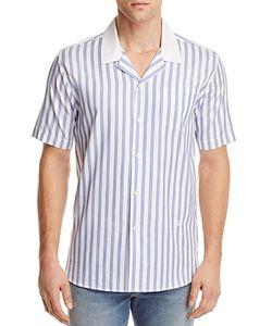 Soulland | Cornwall Striped Slim Fit Button-Down Shirt