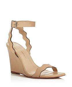 Loeffler Randall | Piper Wave Wedge Sandals