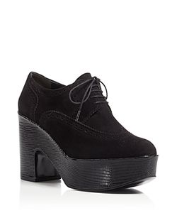 Robert Clergerie | Voel Platform Oxford Booties