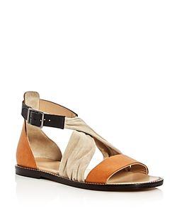 Belstaff   Tallon Crisscross Color Block Sandals