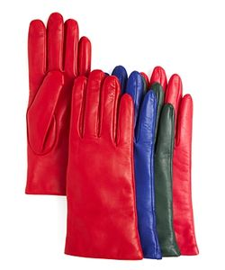 Bloomingdale's | 2-Button-Length Cashmere Lined Leather Gloves 100 Exclusive