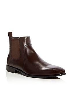 Hugo   Boss Boss Hubot Leather Chelsea Boots
