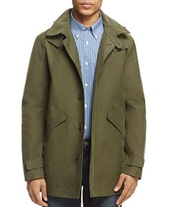 Brooks Brothers | Laser Cut Hooded Jacket
